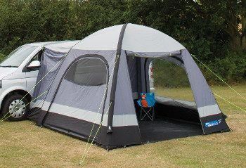 Kampa Travel Pod Cross AIR driveaway awning | Tailgate ...