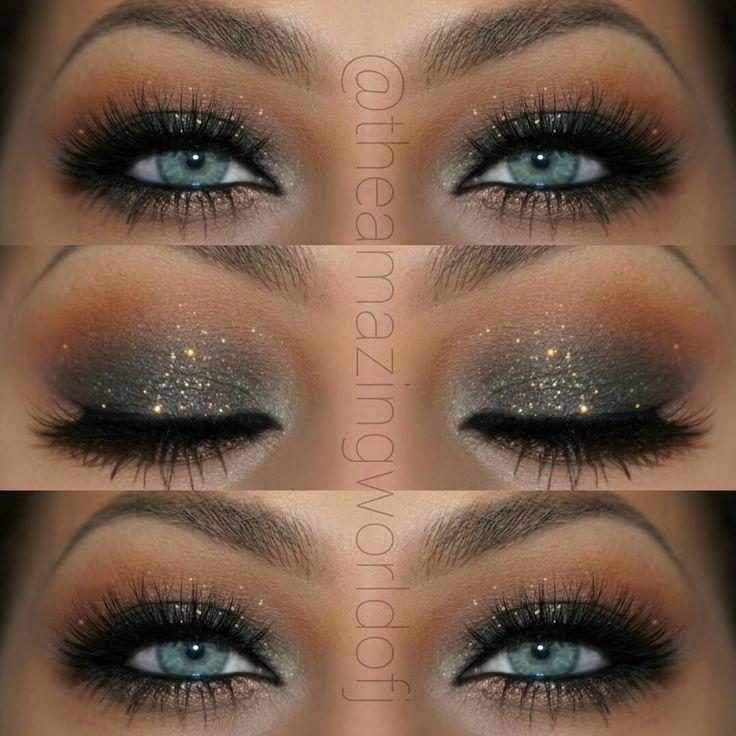 resultado de imagen makeup eyes blue maquillaje plateado maquillaje de ojos maquillaje
