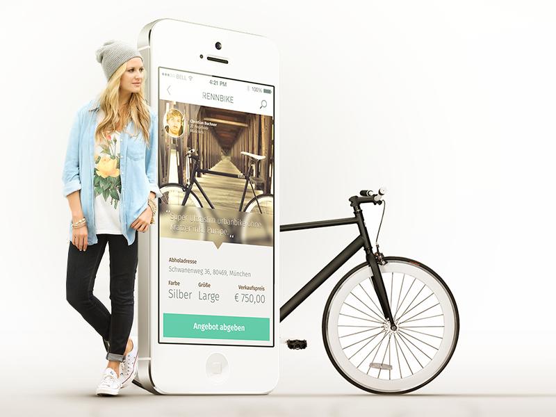 Bike App Cobe User Interface Design Munchen User Interface