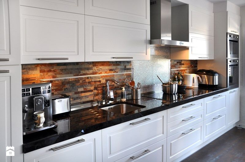 Projekt Mieszkania Dwupoziomowego Konkurs Kitchen Design Kitchen Kitchen Dining
