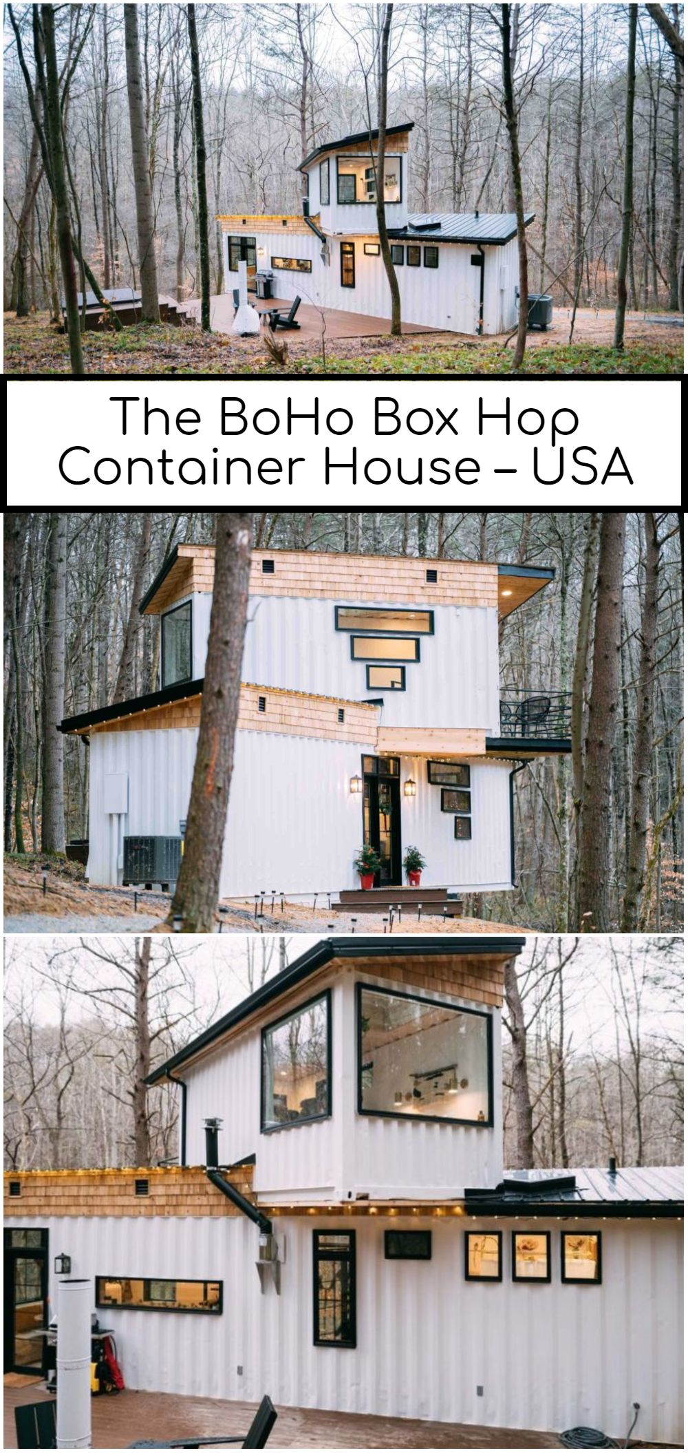 The BoHo Box Hop Container House – USA
