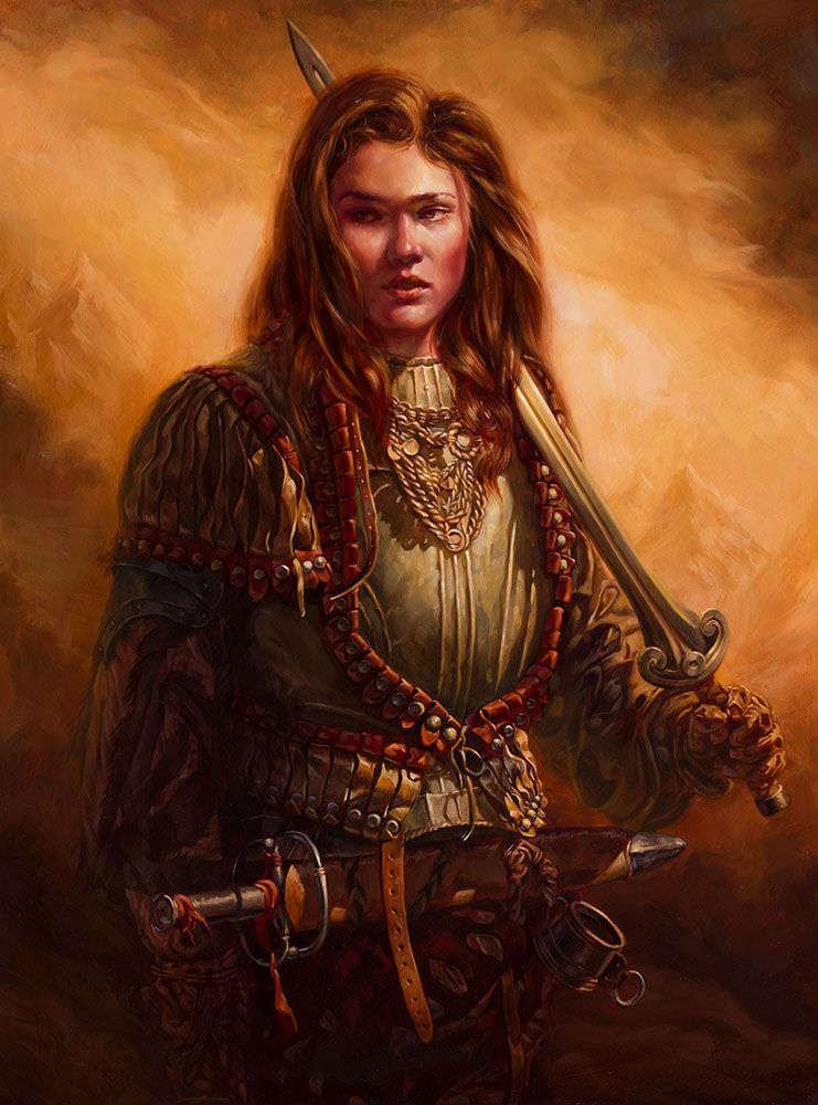 Char Portraits Red Sonja By Michael C Hayes Red Sonja Character