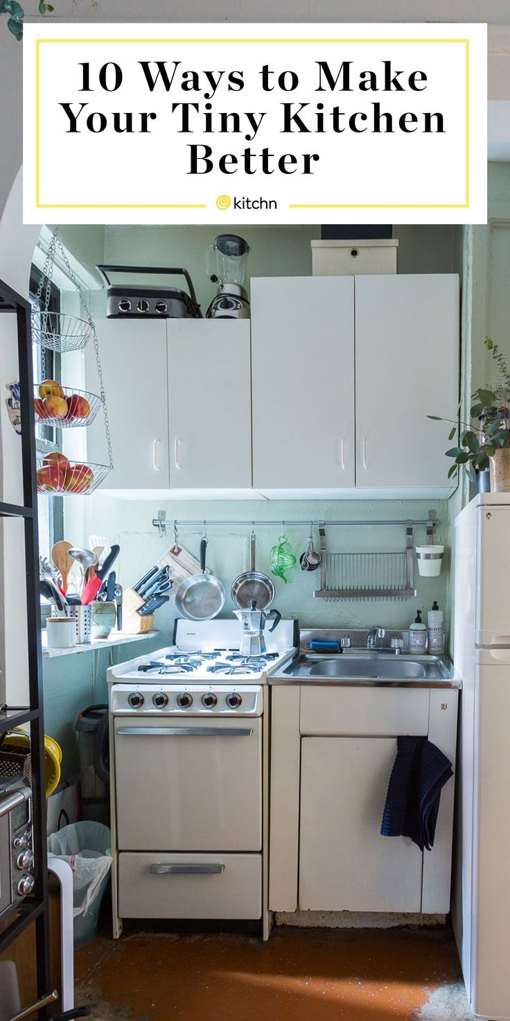 10 Brilliant Ways to Make Your Tiny Kitchen Look and Feel Much Bigger 10 Brilliant Ways to Make Your Tiny Kitchen Look and Feel Much Bigger