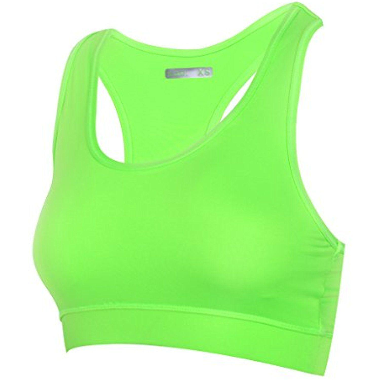 H.MILES Women's Yoga Sport Bra High Impact Workout Gym