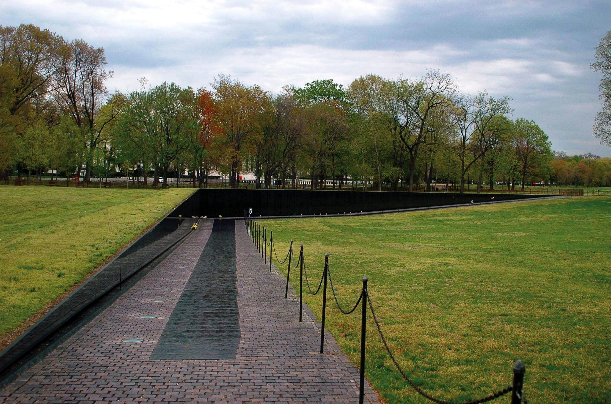 Vietnam Veterans Memorial Maya Lin Monumento Paisajismo Parques