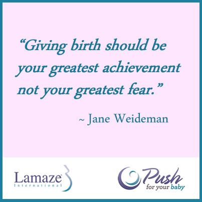 Giving Birth should be your greatest achievement not your greatest - what is your greatest fear
