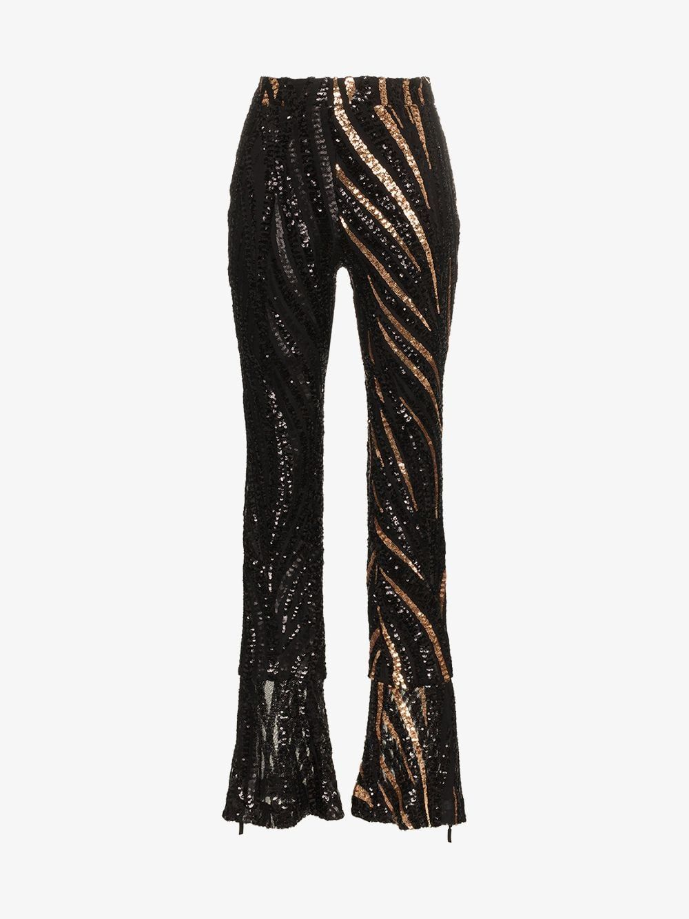 232c181374fb7 Sequin Embellished Slim Fit Trousers in 2019 | Who's That Girl ...