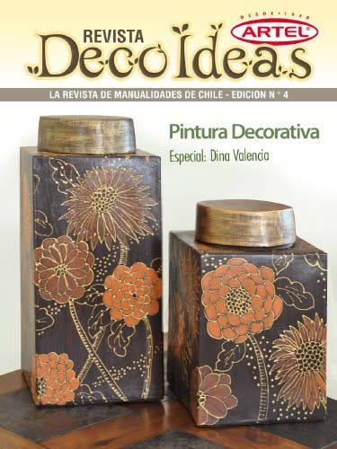 Revista Decoideas Tomo 4 Pintura Decorativa Pdf Saved X