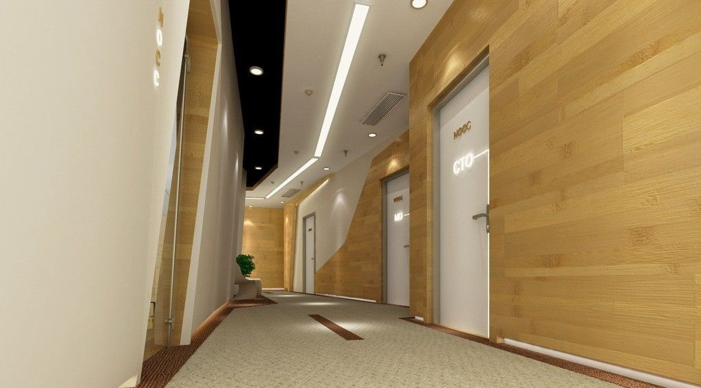 Merveilleux Interior Designs Rendering Corridor