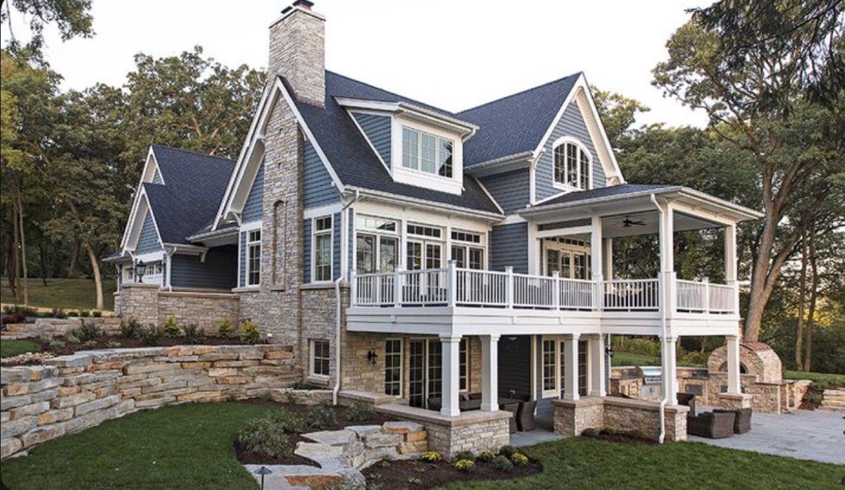 Pin By Nadja Svensek On Dream House In 2020 Lake House Plans Lake Houses Exterior Dream House Exterior
