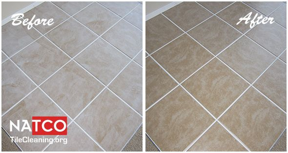 Grout Haze Removal Before And After