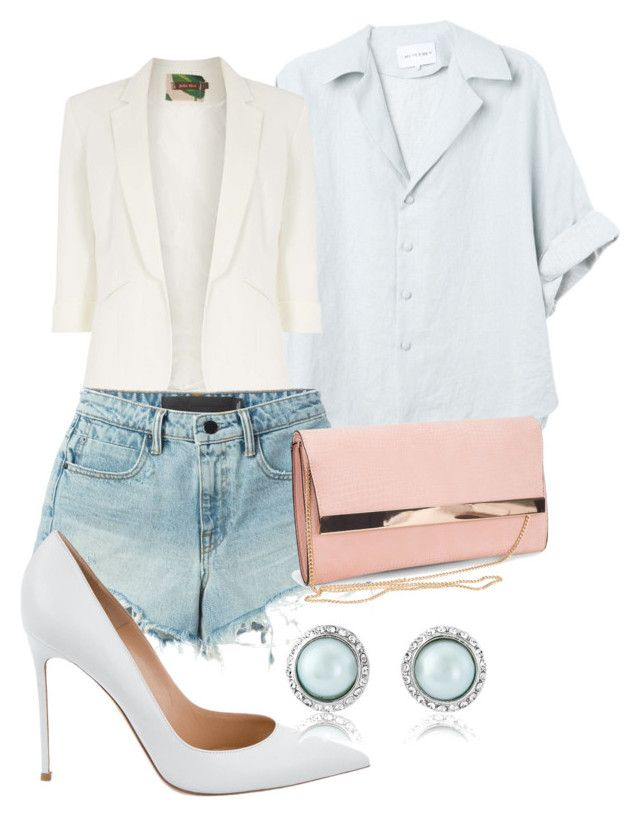 """""""Untitled #1280"""" by social-outcast-16 on Polyvore featuring Jolie Moi, T By Alexander Wang, New Look and Gianvito Rossi"""