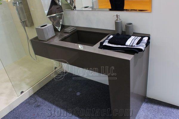 engineered quartz bathroom sink - Bing Images