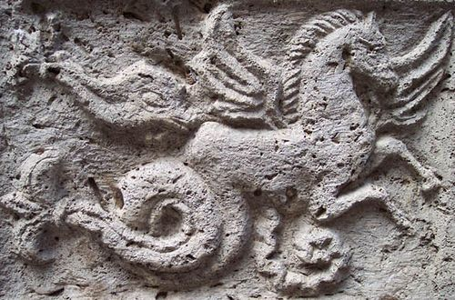 Etruscan horse Montepulciano by thepicoqueen, via Flickr