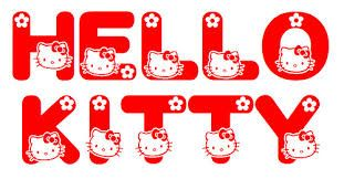 Image result for hello kitty font free download | uhbgvf | Hello