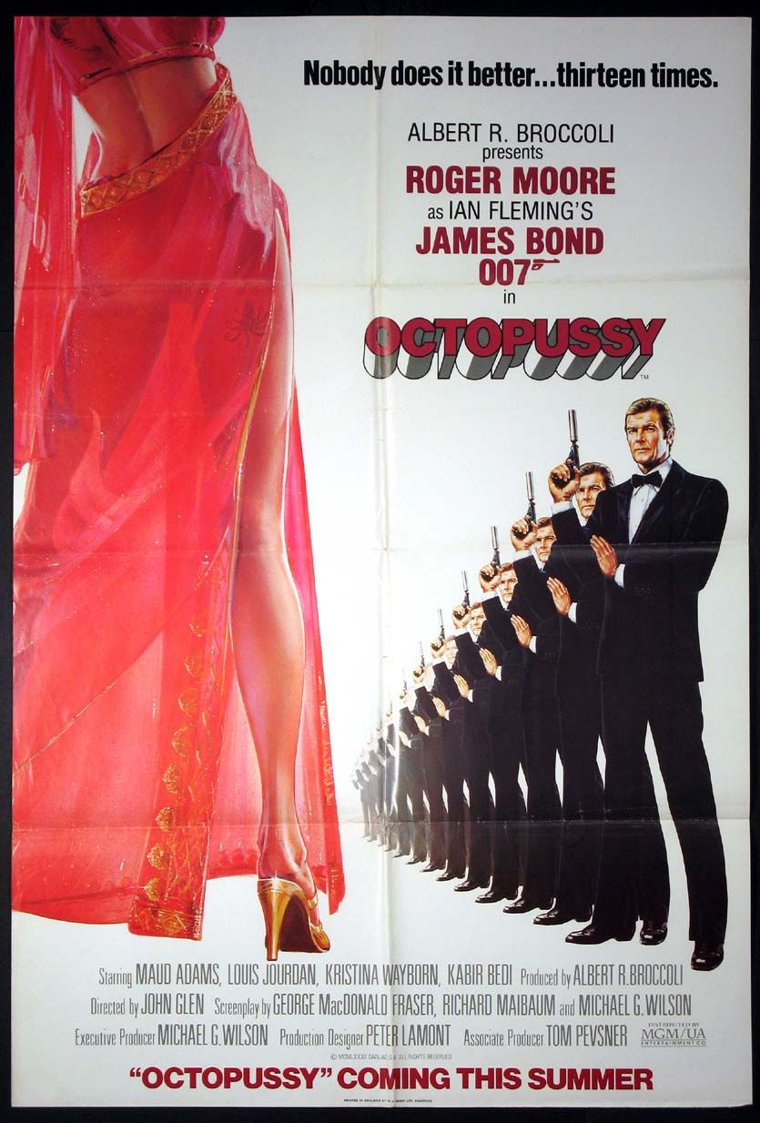 Action Movie Posters Movie Posters James Bond 007 Movie Posters