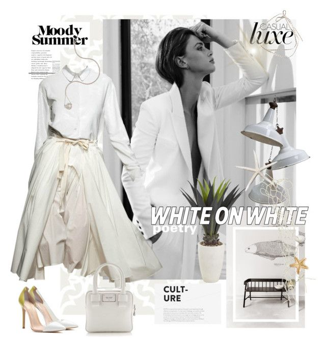 """""""***WHITE POETRY***"""" by mariapia65 ❤ liked on Polyvore"""