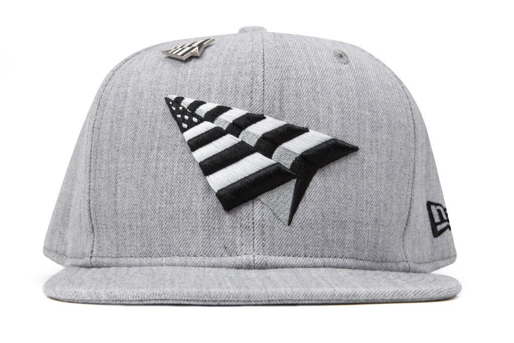 e0ba3fdc42b29 Paper Planes The Crown Old School Snapback - Heather Grey