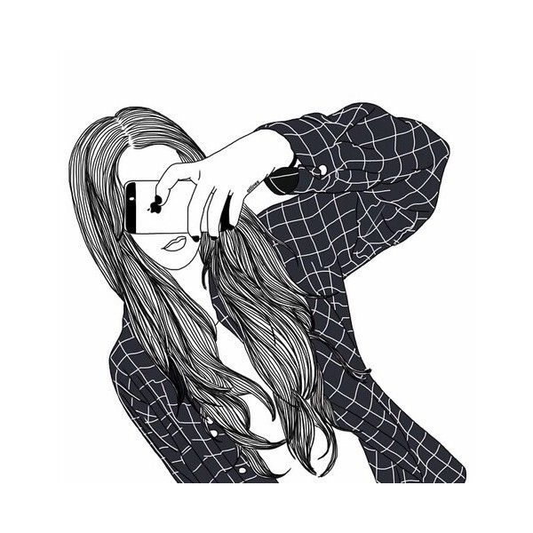 outlines ❤ liked on Polyvore featuring fillers, drawings, doodles, sketches,  art,