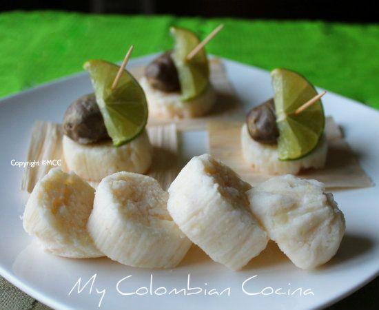 Bollo Limpio- White Hominy Rolls Colombia, cocina, receta, recipe ...