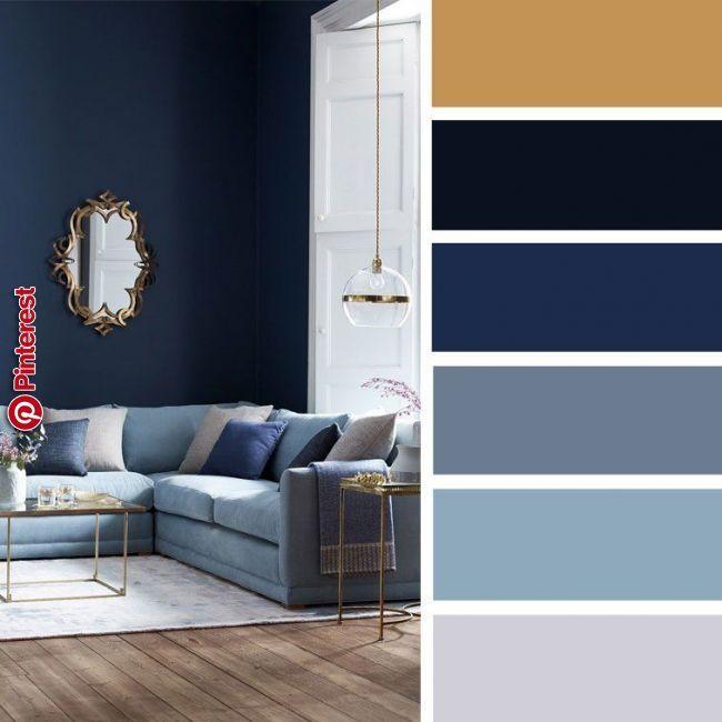 navy interior design color scheme - Google Search | Gold ...