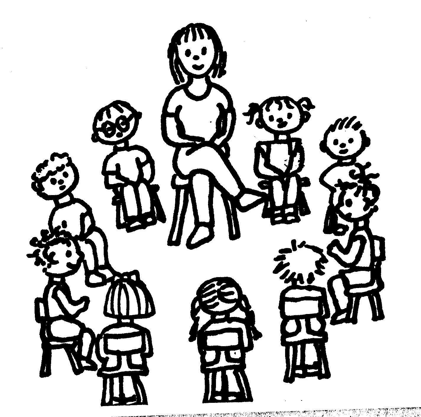 Kinderen Samen Spelen Kleurplaat Simon Zegt Geef De Kinderen Opdrachten Zoals Raak Je