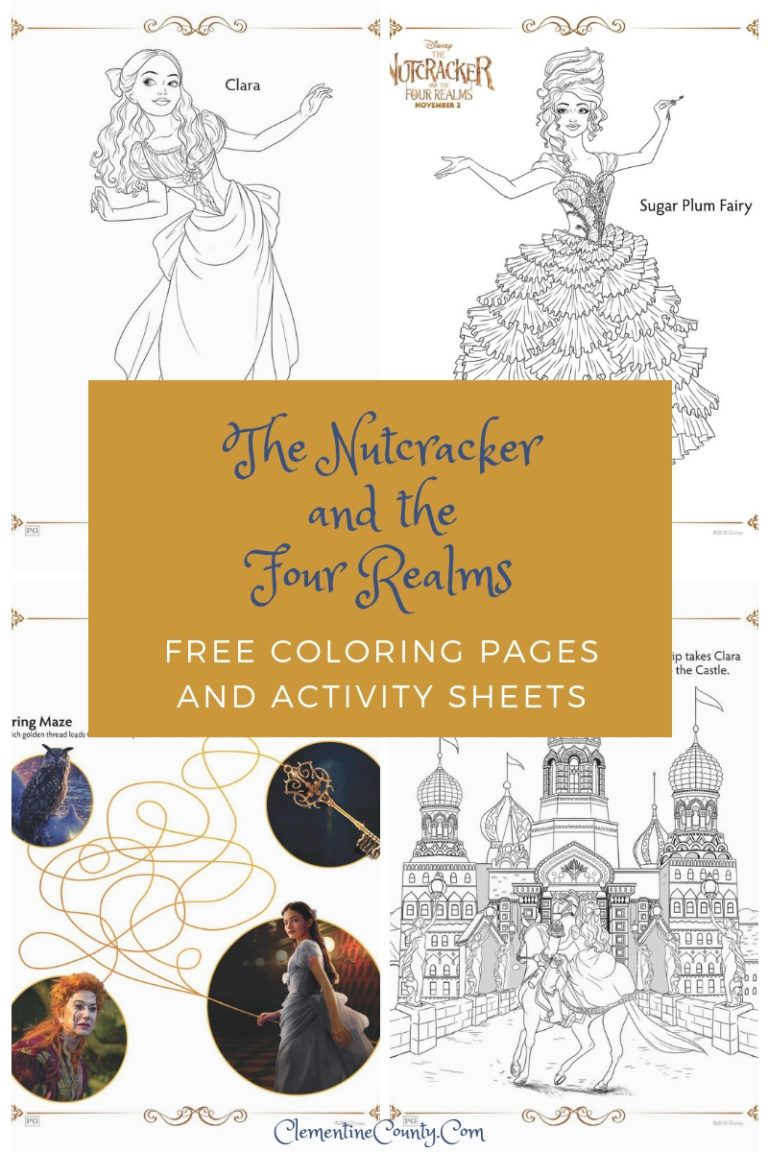 The Nutcracker And The Four Realms Coloring Pages Coloring Pages