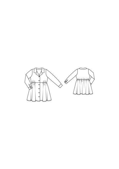 ddb683436 135_girls_dress_large Kids Patterns, Flared Skirt, Girls Dresses, Pdf,  Flare Skirt