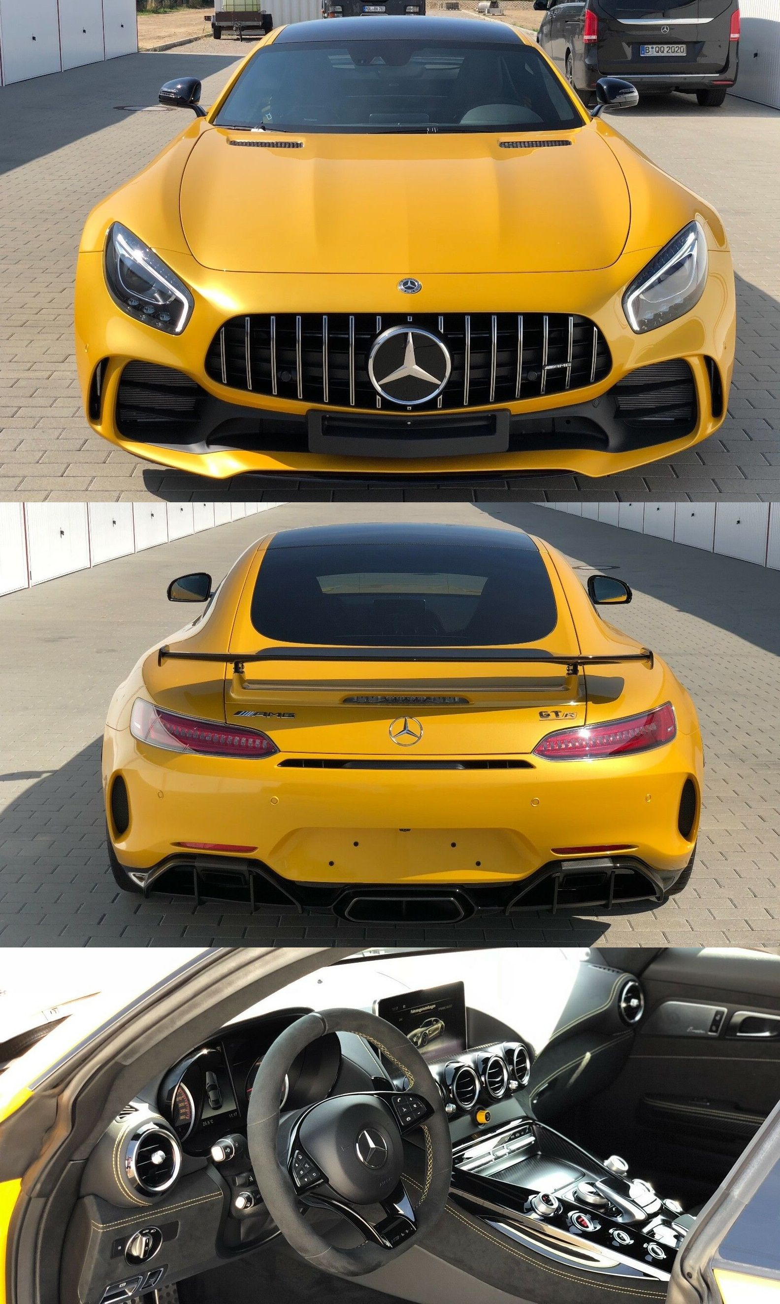 Mercedes Benz Amg Gt R Coupe With Images Mercedes Benz Amg