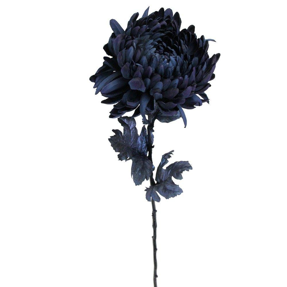 Allstate Floral 30 Deepest Indigo Artificial Silk Floral Pick In 2020 Floral Picks Unique Flowers Floral