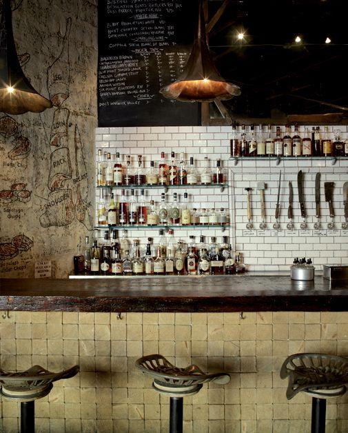the world's most innovative restaurant interiors   fett und barhocker, Innenarchitektur ideen