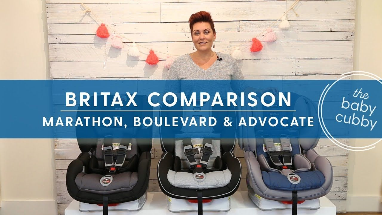 Comparison Between Britax Click Car Seats Marathon Boulevard Advocate The Here