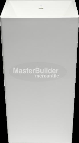 Blu Bathworks SA0504 Metrix blu∙stone™ Freestanding Pedestal Basin – MasterBuilder Mercantile Inc.