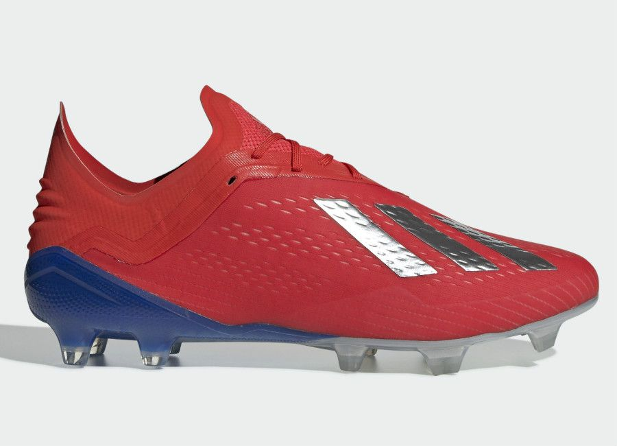 91fe0c8c6bb Adidas X 18.1 FG Exhibit - Active Red   Silver Met   Bold Blue   adidasfootball