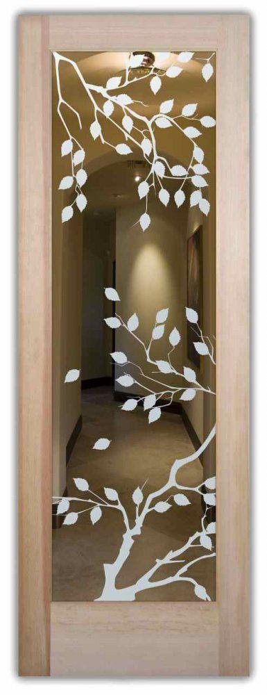 Interior Glass Doors   Cherry Tree Positive   Asian   Interior Doors    Other Metro   Sans Soucie Art Glass