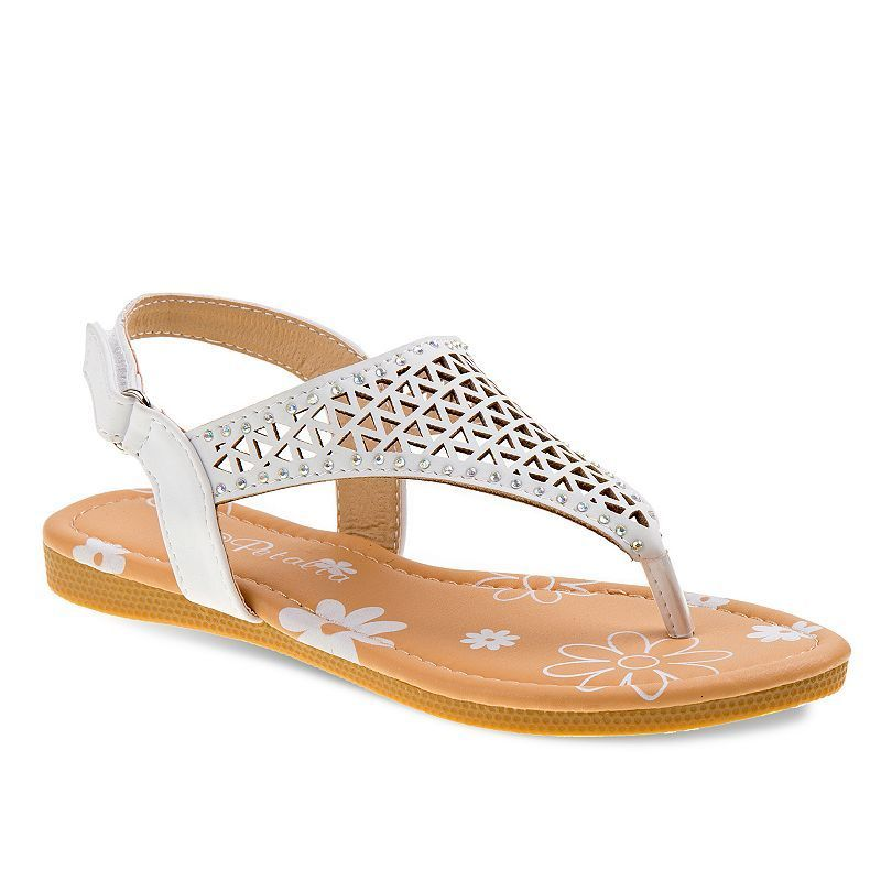 8aae89ffb328a2 She ll love the trendy slingback style of these girls  Petalia sandals.