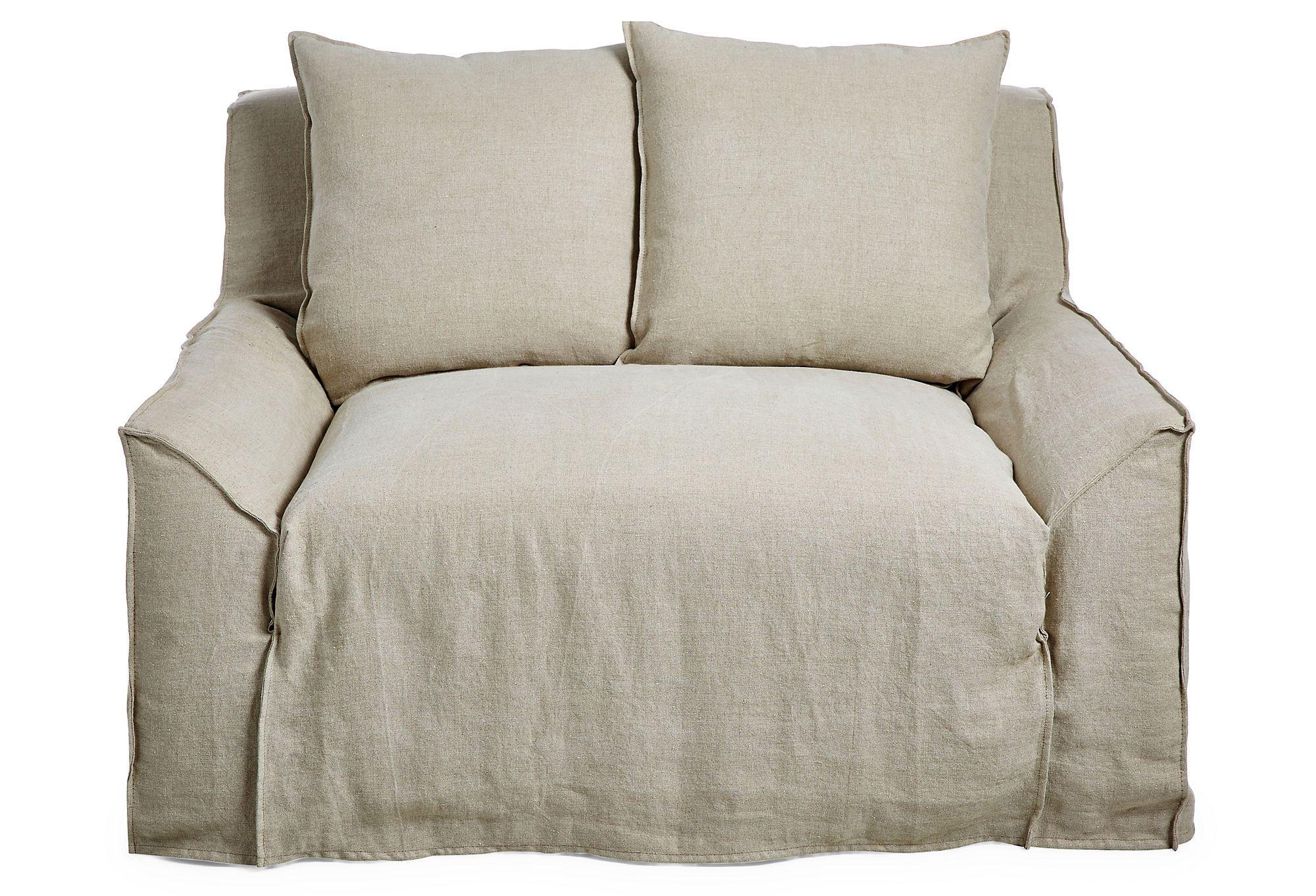 Oaji Slipcover Chair And A Half Oatmeal Slipcovers For Chairs Chair And A Half Slipcovers