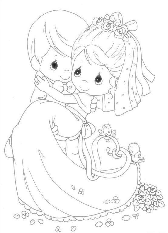 Ausmalbilder Ausmalbilder Hochzeit Malvorlagen Kinder Malbuch