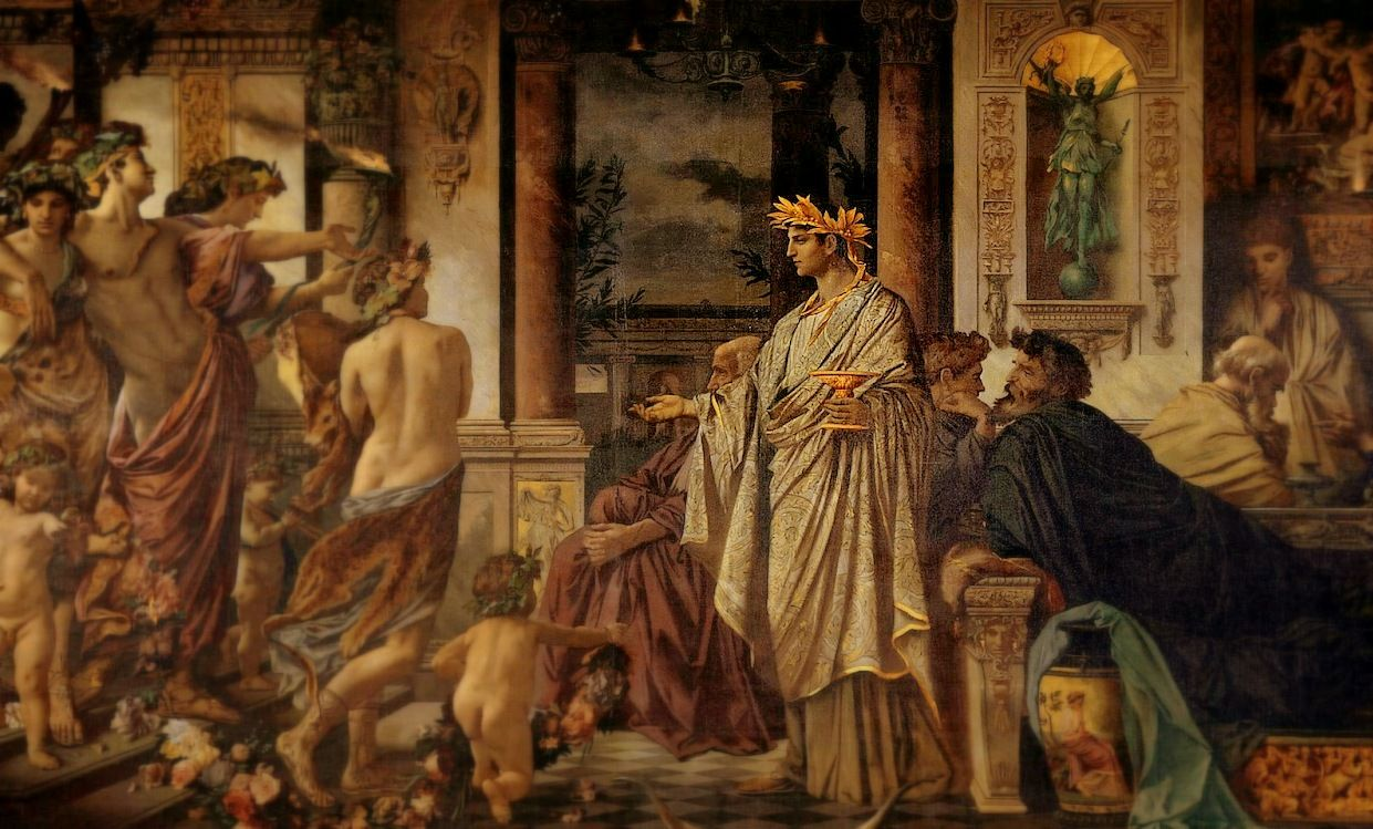 At The Center Of Greek Social And Intellectual Life Was The Symposium Which Literally Means Drinking Together Indeed The Symp Art Painting Ancient Greece