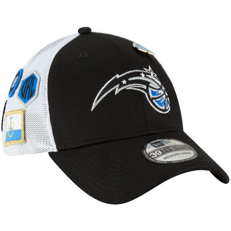 uk availability 62405 529c3 Orlando Magic New Era 2018 Draft 39THIRTY Fitted Hat – Black