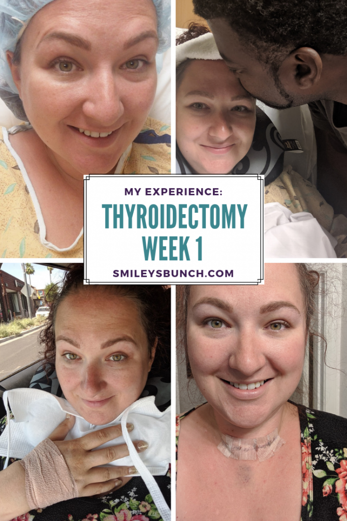 Thyroidectomy Recovery Week 1 Thyroidectomy Thyroid Surgery