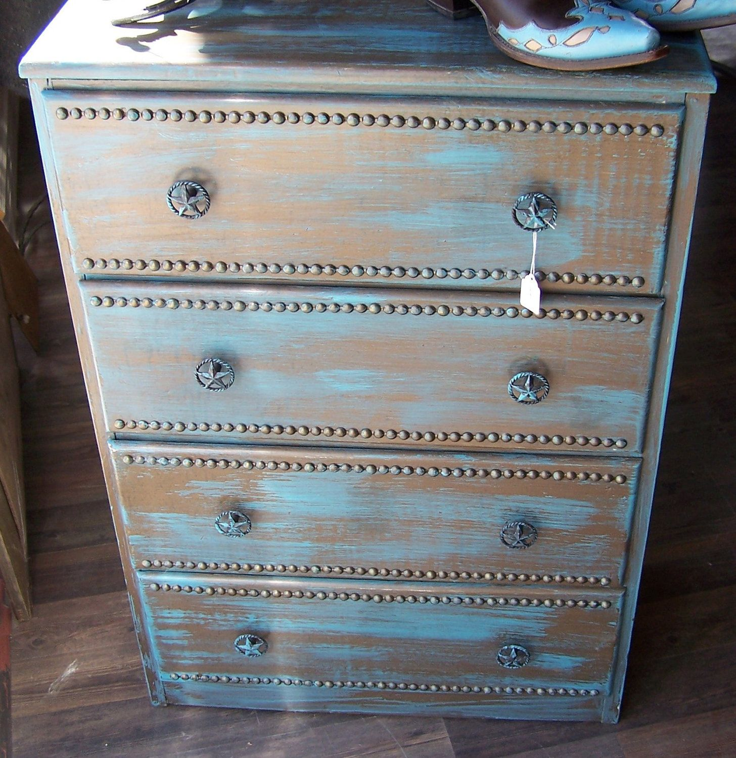 Southern State Rustic Furniture Accessories: Half Moon Emporium - Great Refinished Dresser