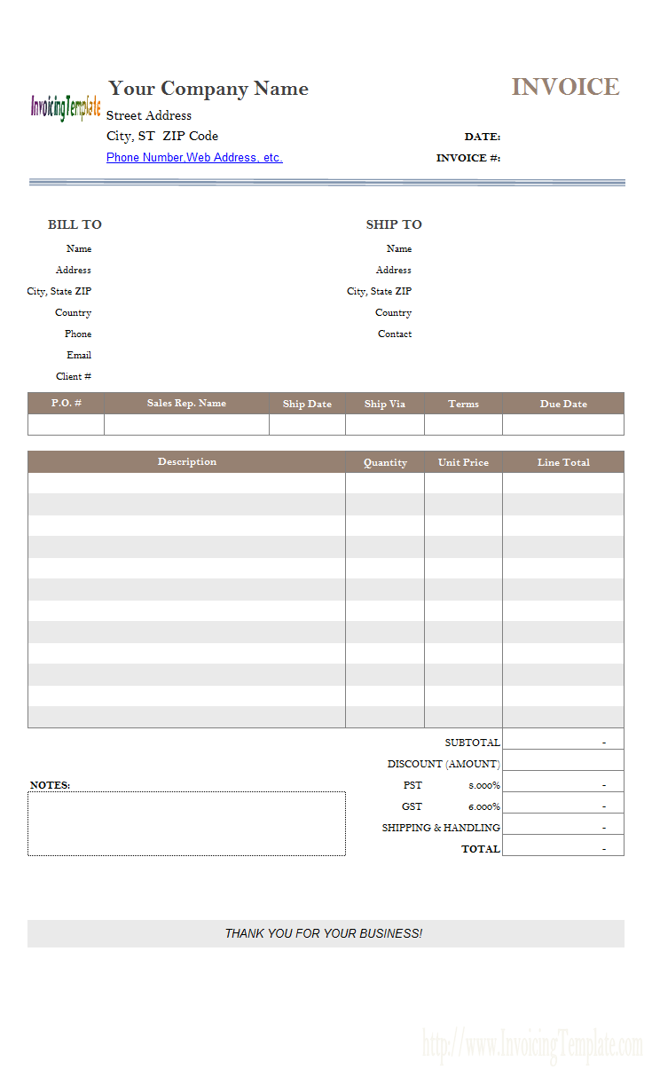 Simple Sample Discount Amount Field 05 11 17 Invoice Template Invoice Template Word Invoice Format