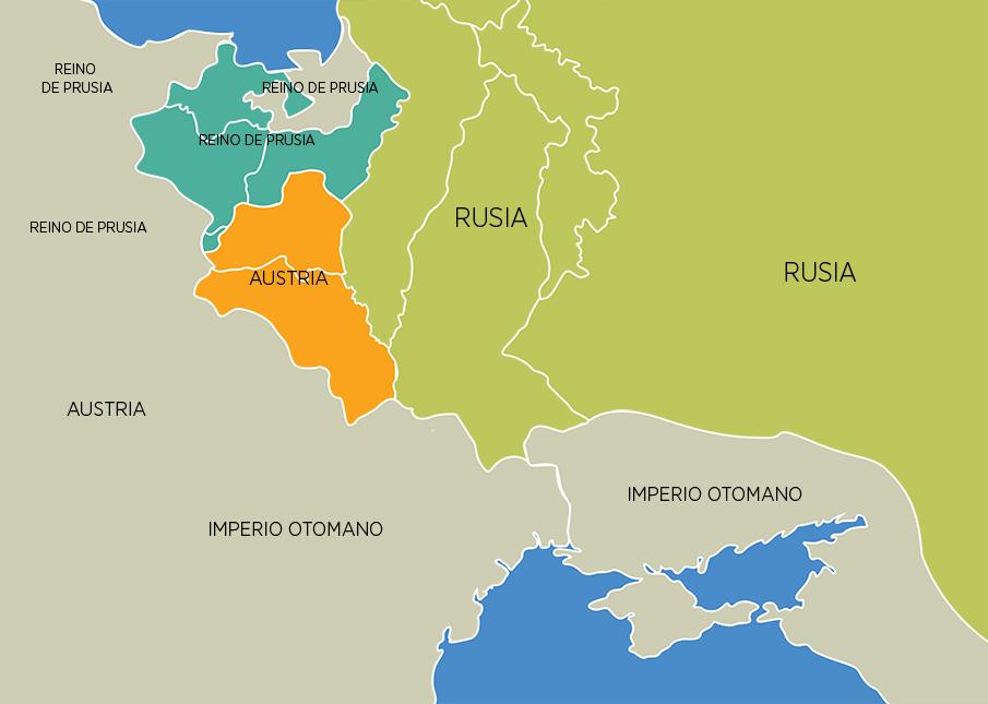 bajo el protectorado del Imperio napolenico