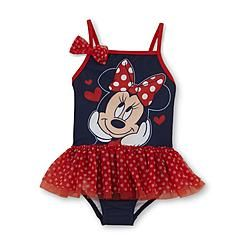 Disney Baby Minnie Mouse Toddler Girl's Tutu Swimsuit