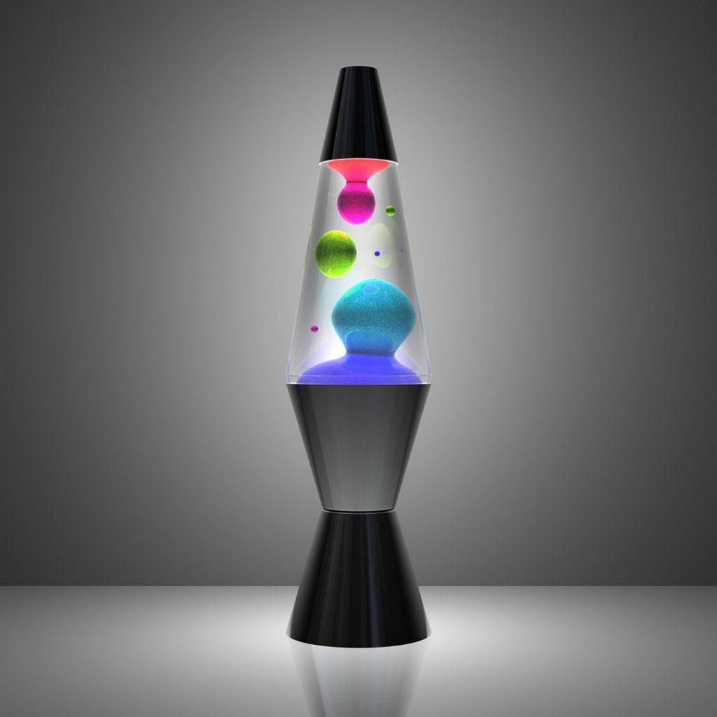 Rainbow Lava Lamp ラバランプ 玻璃 ラバライト