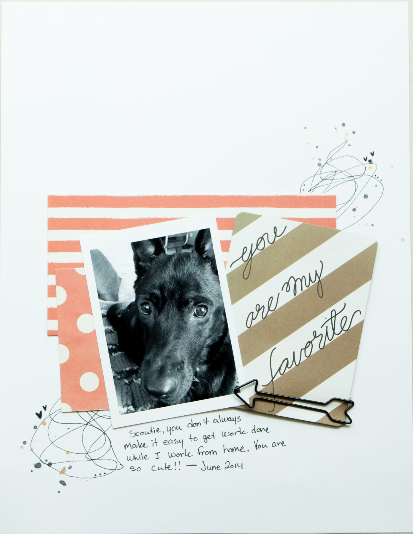 you're my favourite~ Jen Ritchie for Paper Camellia