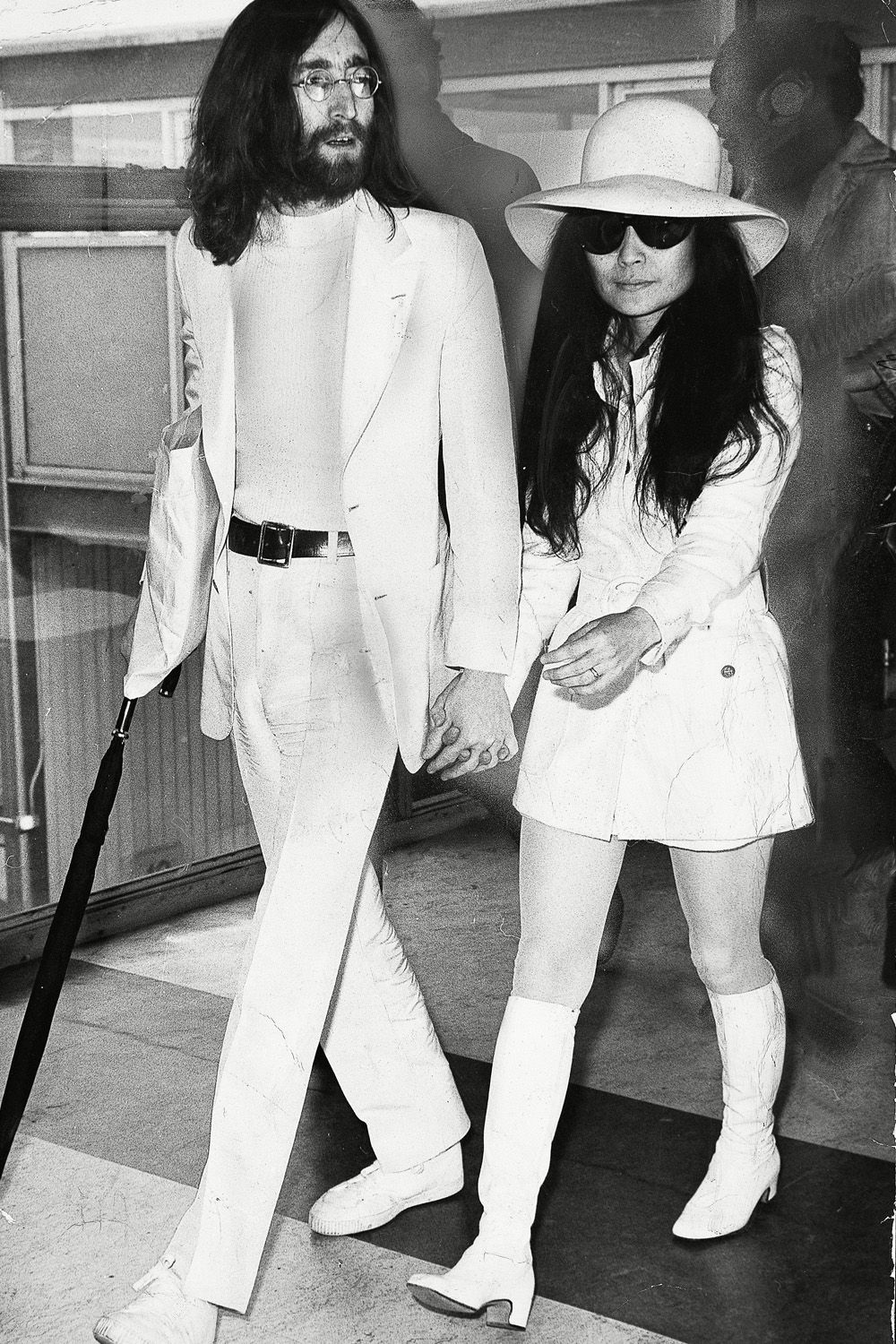 #CoupleTwinning? Well It Worked For John And Yoko... http://ift.tt/1W5VVsR #InStyleUK #Fashion