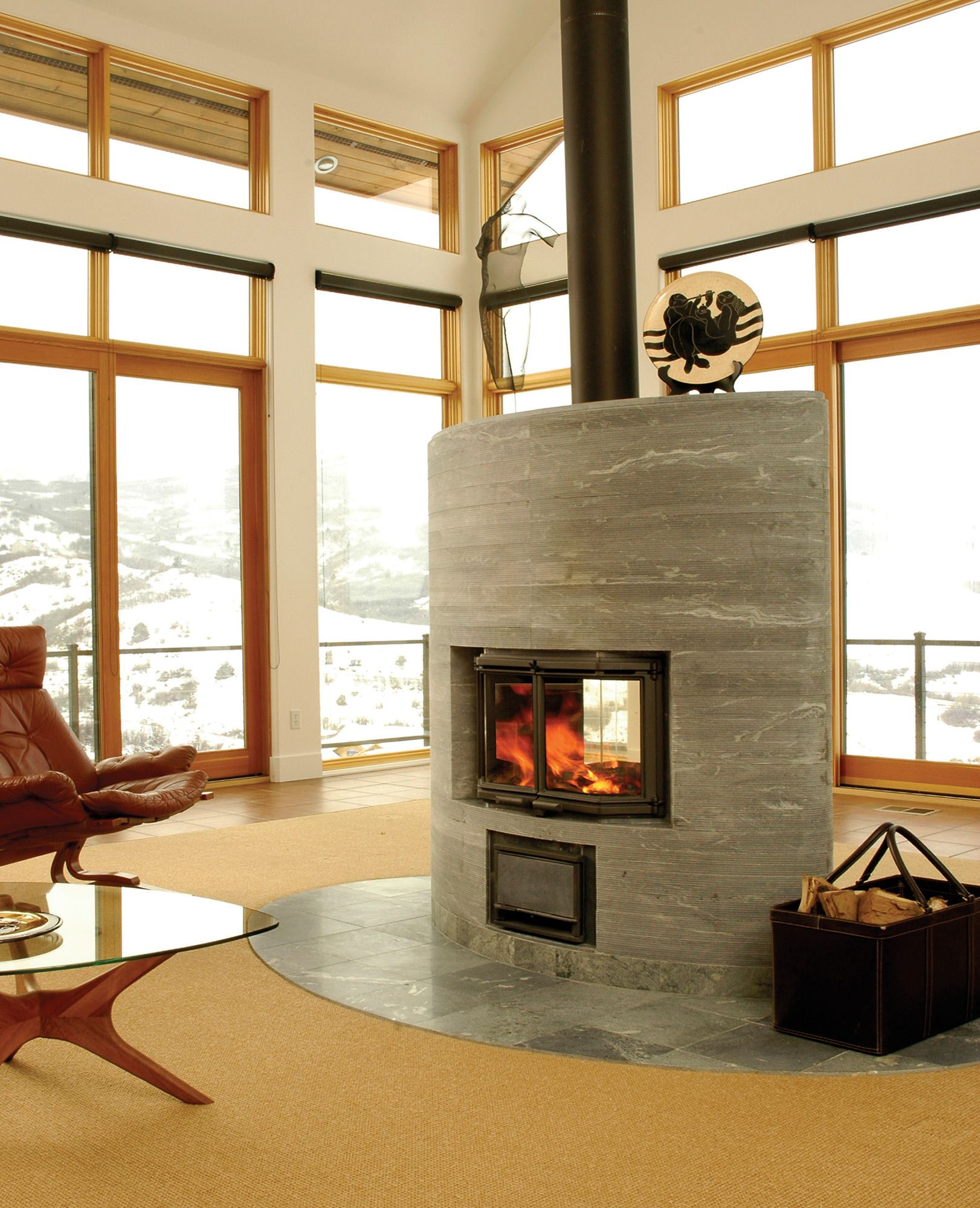 Big Sky Journal Tulikivi Fireplaces Fireplace Fireplace