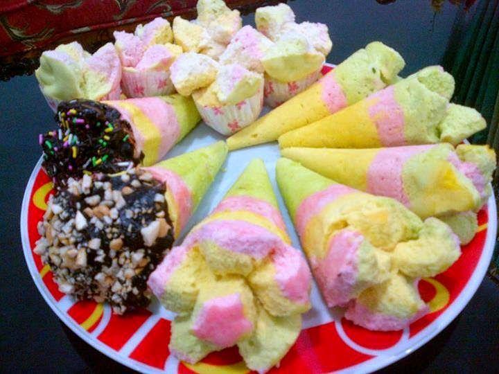 By T Uti Yuniati Adiwirya Bahan 300 Gram Tepung Terigu Segitiga Biru 1 Sdt Baking Powder Vanili Makanan Makanan Jalanan Resep Makanan Penutup